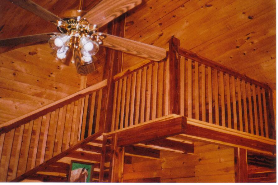 Woodwork Rustic Stair Railings PDF Plans